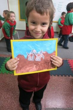 Pintando el cruce de los Andes 87