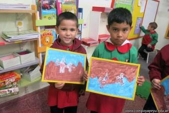 Pintando el cruce de los Andes 88