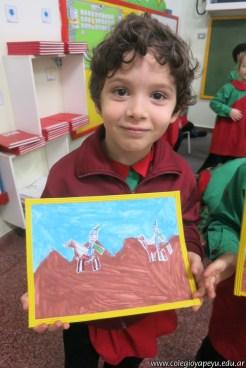 Pintando el cruce de los Andes 93