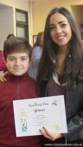 Certificados Spelling Bee 18