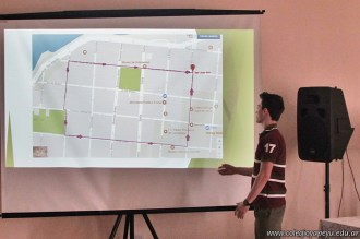 Clase abierta Diagnóstico ambiental del barrio de la escuela 12