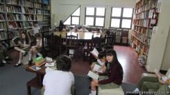 Tercero visita la biblioteca 101