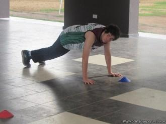 Actividades de Educación Física de Alumnos de Ciclo Orientado 9