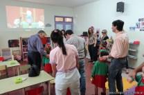 Clase abierta de inglés en la sala de Antonella 58