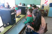 Clase de computación de la sala de Antonella 3