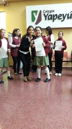 Entrega de certificados YLE primaria 13