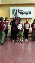 Entrega de certificados YLE primaria 17