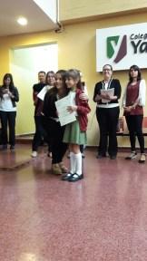 Entrega de certificados YLE primaria 18