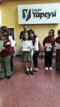 Entrega de certificados YLE primaria 24
