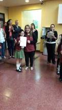 Entrega de certificados YLE primaria 42