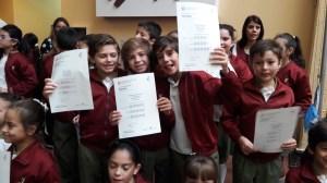 Entrega de certificados YLE primaria 51