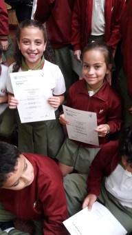 Entrega de certificados YLE primaria 53