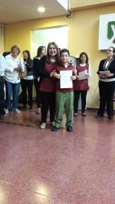 Entrega de certificados YLE primaria 6
