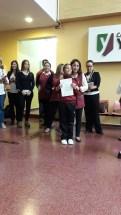 Entrega de certificados YLE primaria 8