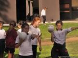 Jornada de atletismo con el Kid's School 24