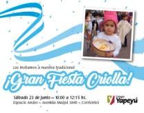 Fista Criolla - Nueva fecha