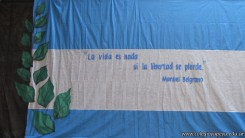 Acto por el Día de la Bandera 1