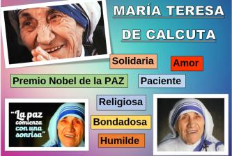 MARIA TERESA DE CALCUTA