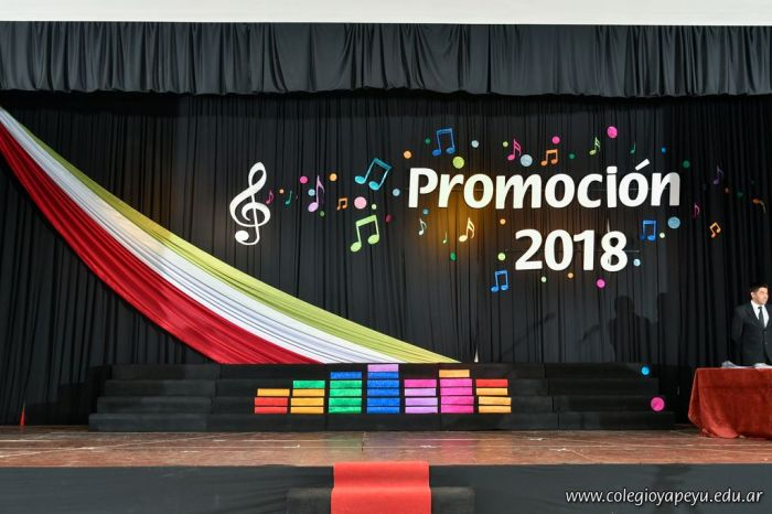 Acto de Colacion de la Promocion 2018 1