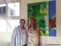 Lic. Mónica Rodríguez Salvo y la Directora General del Colegio