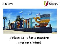 ¡Felices 431 años a nuestra querida ciudad!