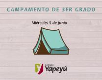 Campamento 3er grado