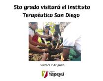 5to grado visitará el Instituto Terapeútico San Diego (1)