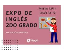 Expo de inglés 2do grado