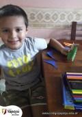 Niños trabajando en casa - Jardín (7)