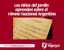 Himno Nacional - Jardín