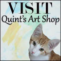 Paintings by cat painter Quint