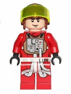 B Wing Pilot   LEGO Star Wars Minifigs set Save my collection