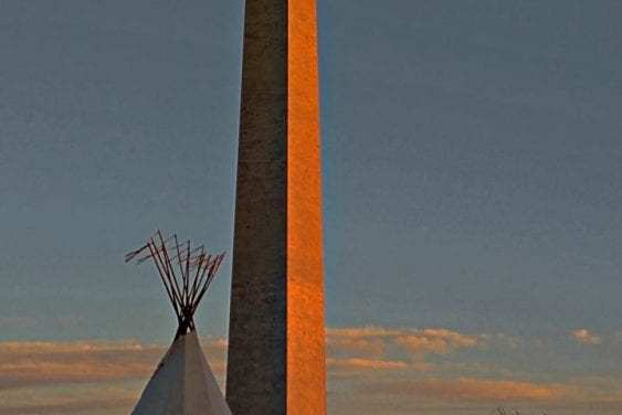 Dakota Pipeline Protest-Washington Monument