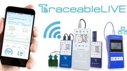 Traceable remote monitoring temperature data loggers