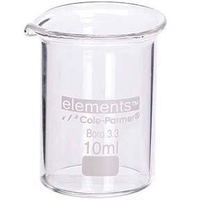 clean lab glassware