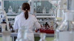 chemist in laboratory