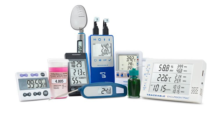 Test & Measurement Instruments Digital Thermometer Dataloggers Multimeters