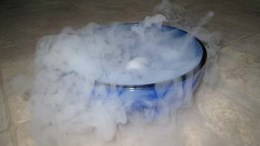 dry ice sublimation