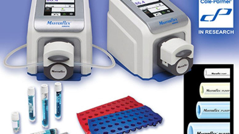 Masterflex Ismatec Reglo Digital Miniflex Pumps, PolarSafe Cryovial Racks and Cryogenic Vials