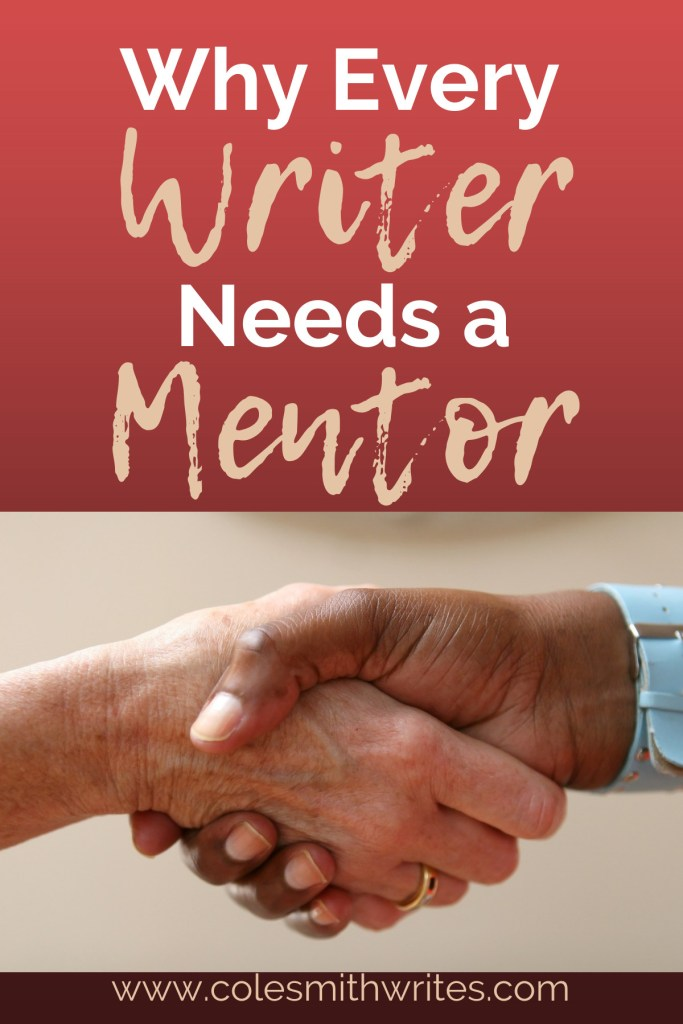 Find out why every writer needs a mentor: