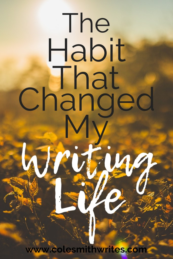 Can one habit change your writing life? | #blogging #schedule #productivity #writestuff #timemanagement #writersunite #writingtips #writinghelp #writingcommunity #writingadvice #readers #writers #writinginspiration #writinghacks #fiction #nanowrimo #selfpublishing #learning #writingmotivation #amwriting #writersblock #writersaesthetic #planner #screenwriters #write #wakeup #authors #indieauthors #writerproblems #writersofinstagram #creativity #writersworkshop #early #selfpublishing #getpublished