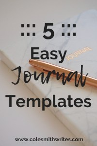 Need a quick journal fix? Try one of these easy templates. Start (or restart) today: #bujo #writersnotebook #writers #screenwriters #writingtips #writersjournal #writingadvice #writinghelp #writersunite #writing #fiction #bulletjournaling #writestuff #writinglife