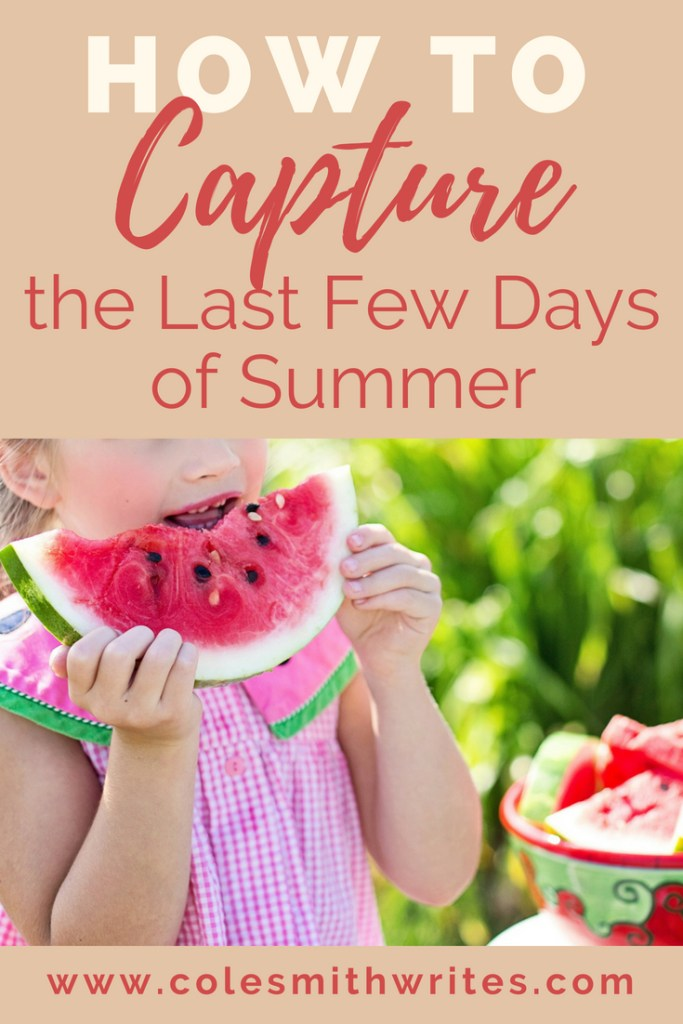 Feeling less than productive on your summer wish list? If the season has slipped by, try these quick tips before back-to-school time! | summer fun | stay focused