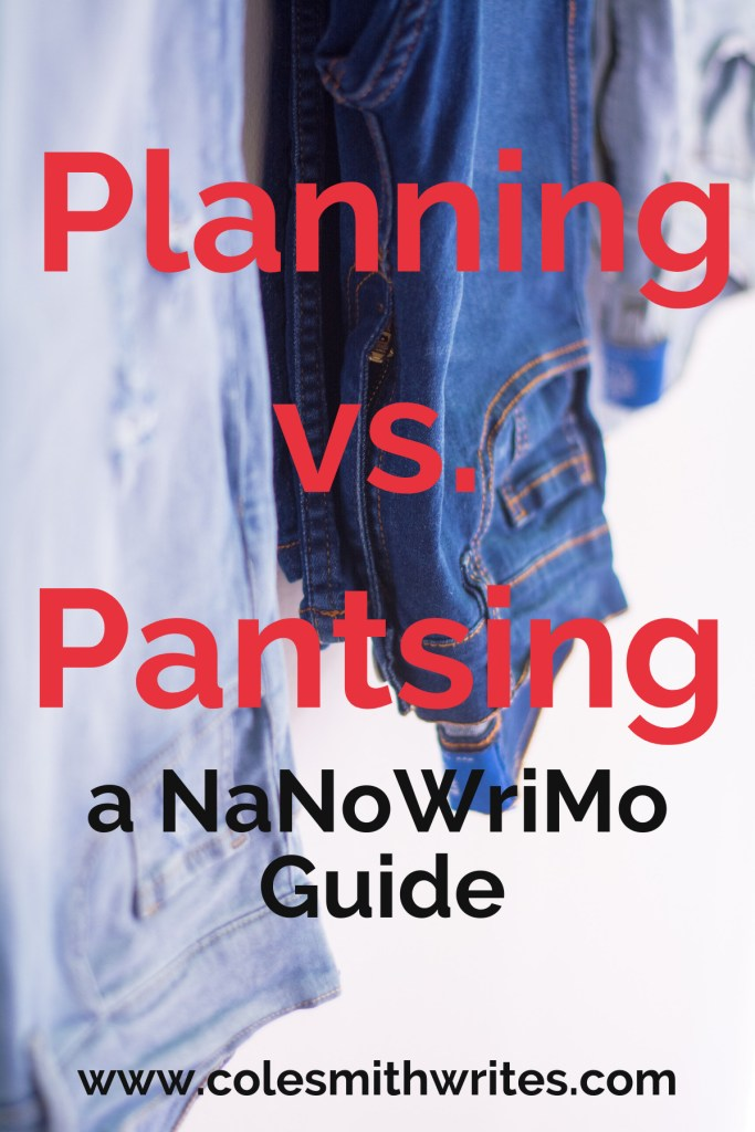 Do you take sides in the Planning vs. Pantsing debate? | #writingtips #fiction