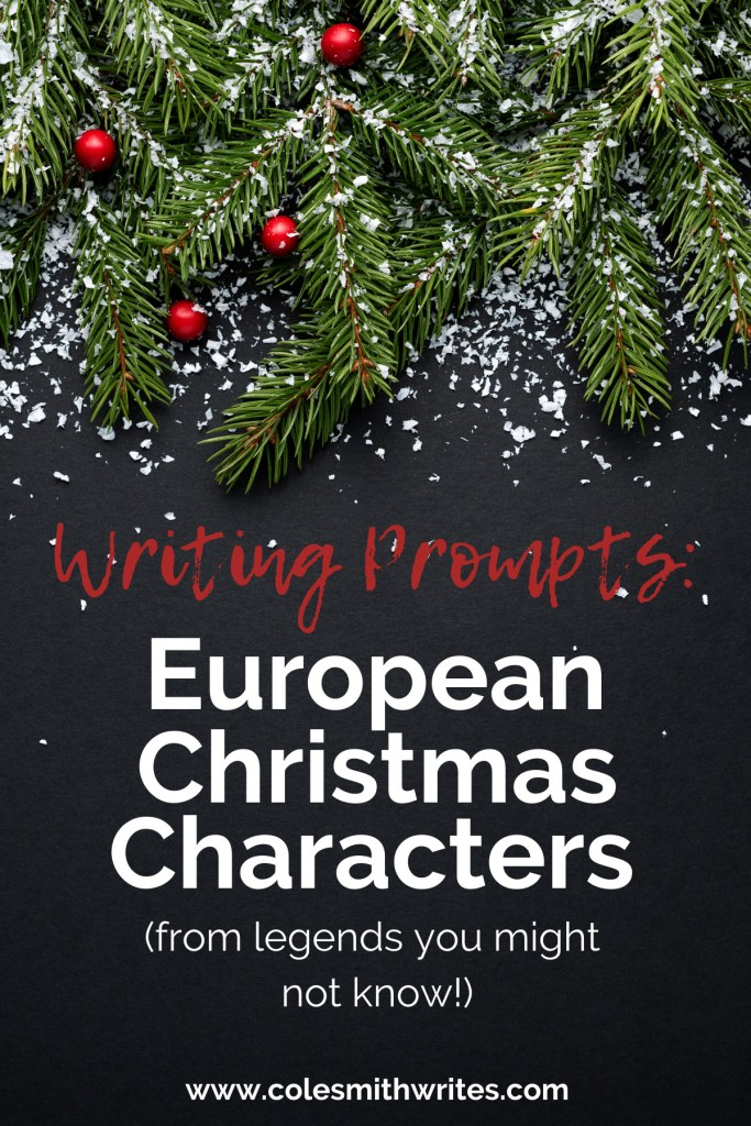 European Christmas Character Writing Prompts | #creative #family #stories #writers