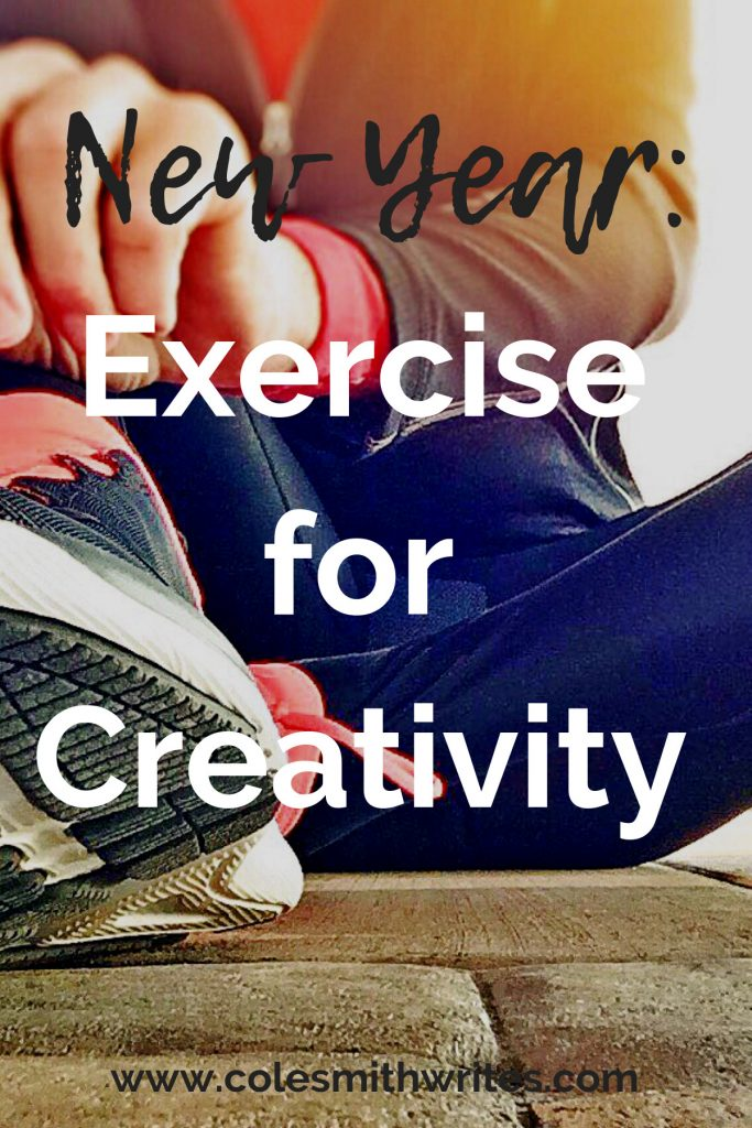 Looking to jump start your creativity in the new year! Start with exercise. #creatives #creativityhack #productivity #wellness #brainhealth #mentalhealth #writingtips #fiction