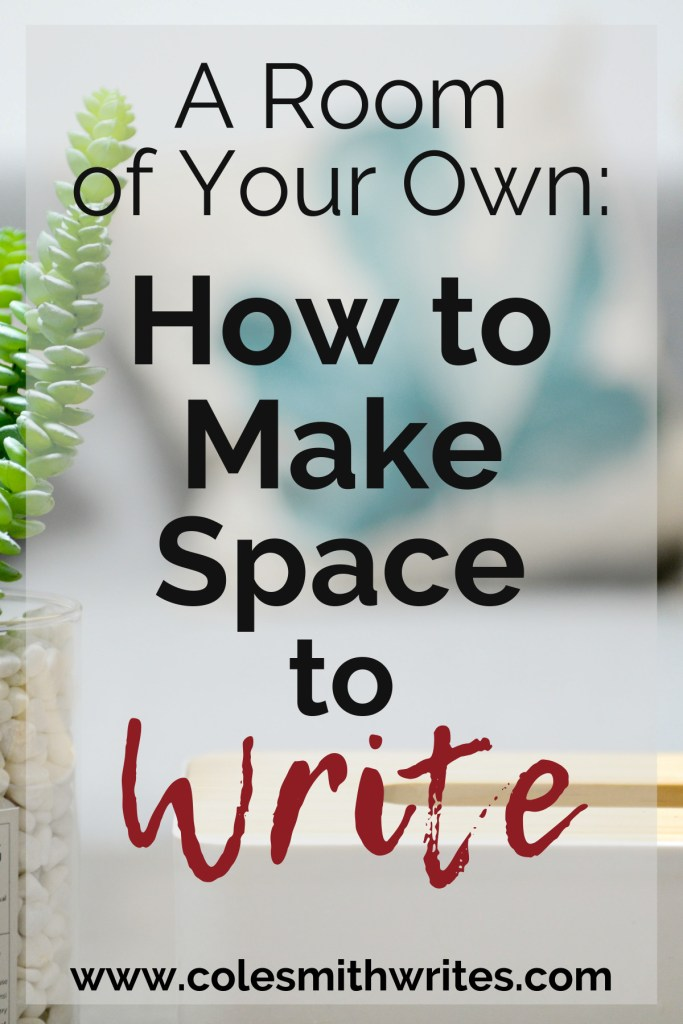 Find out how to make space to write even if you think you don't have room:   #indieauthors #indiepublishing #writingtips #fiction #nonfiction #readers
