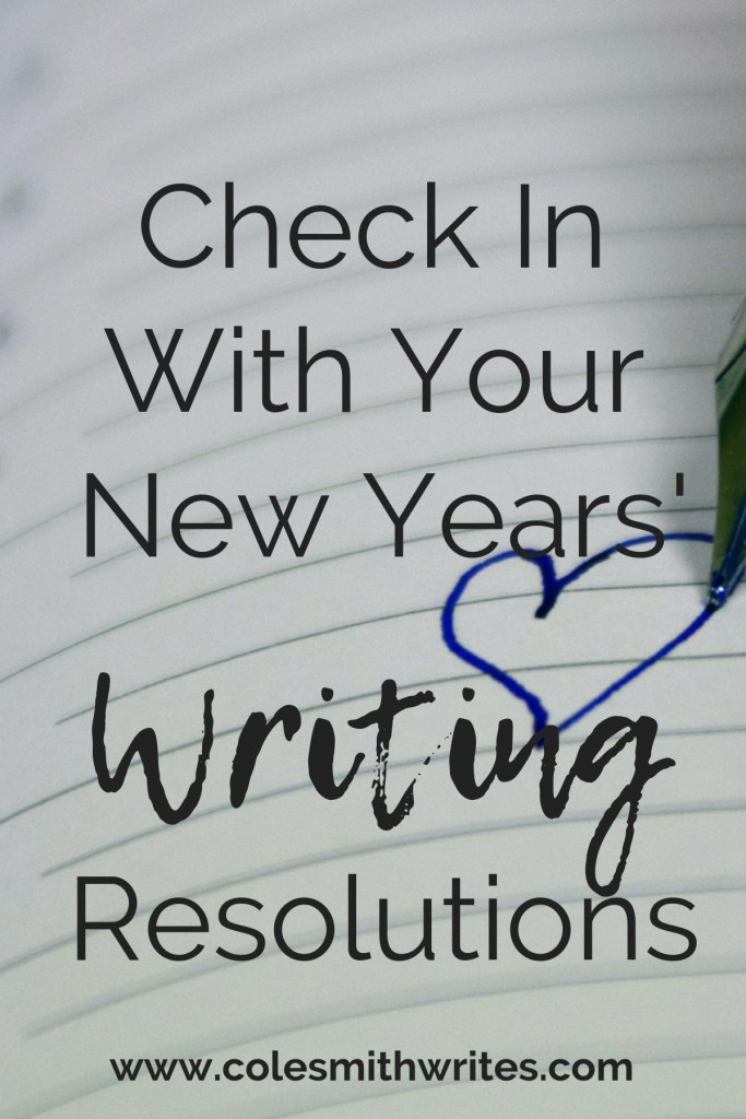 It's not too late to check in with your New Year's resolutions :)
