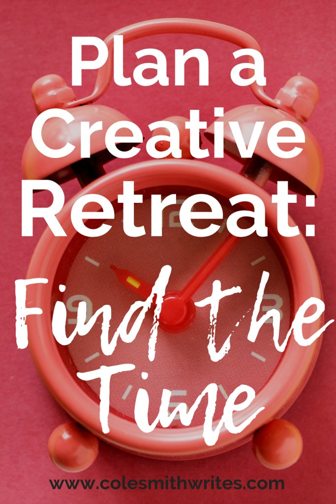 Want to take a creative retreat but think it's not possible? Here's how to find the time: | #writers #writersunite #authors #writers #writingtips #fiction