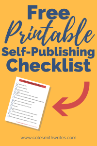 Want to self-publish but don't know where to start? Try this checklist! 80% of people want to write a book. If that's you, check out this free download. This free resource will help you figure out where to start and whether self-publishing is the way for you. #selfpublishing #booklaunch